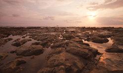 Sunset Shack Beach-Rocks